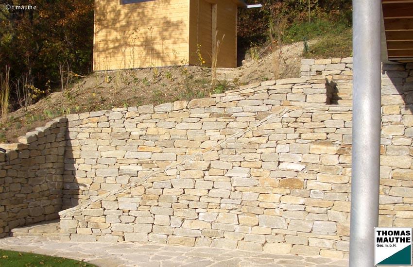 steinmauern im garten, Garten und Bauen