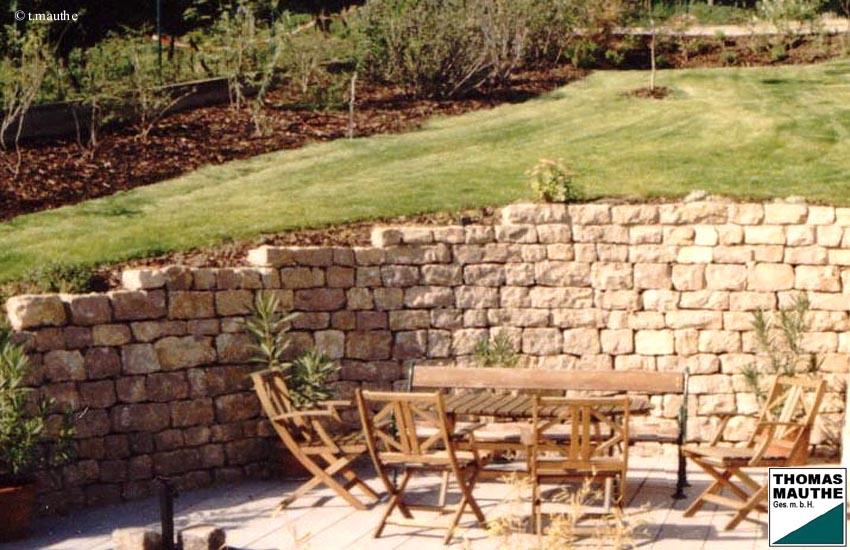 Steinmauer Garten Selber Bauen – Wohn-design