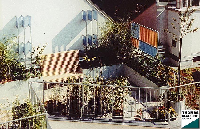 Sichtschutz Dachterrasse Beispiele ~ Kreative Ideen für Design und Wohnmöbel
